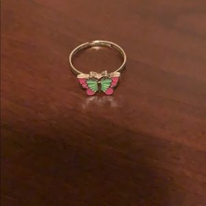 Butterfly paparazzi ring